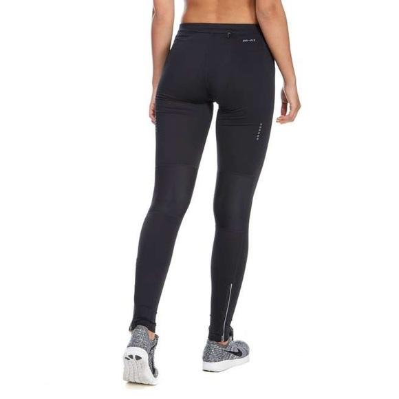 plus de photos f0f7c f63ff Nike Dri Fit Leggings With Ankle Zipper Size L